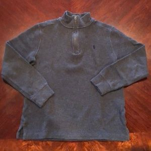 Ralph Lauren Boys 3/4 ZIP Sweater - Large